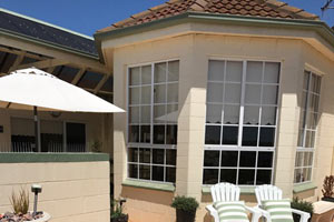 Entrance to your suite at Killara
